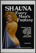 "Movie Posters:Adult, Shauna: Every Man's Fantasy (Reeltime, 1985). One Sheet (27"" X 41""). Adult...."