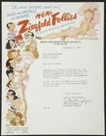 Movie Posters, Al Hirschfeld Art Lot (MGM, 1920s, 1930s & 1940s). Miscellaneous.... (Total: 3 Items)