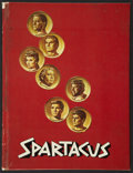 "Movie Posters:Adventure, Spartacus (Universal International, 1960). Hardcover Program (8.5""X 11.25""). Adventure...."