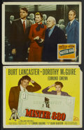 "Movie Posters:Comedy, Mister 880 (20th Century Fox, 1950). Title Lobby Card and Lobby Card (11"" X 14""). Comedy.... (Total: 2 Items)"