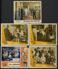 """Movie Posters:Comedy, The Ladykillers Lot (Ealing, 1955). Lobby Cards (5) (11"""" X 14"""").Comedy.... (Total: 5 Items)"""