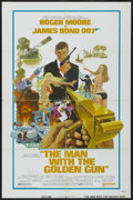 """Movie Posters:James Bond, The Man With the Golden Gun (United Artists, 1974). One Sheet (27"""" X 41""""). James Bond...."""