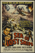 "Movie Posters:Adventure, Sea of Lost Ships (Republic, 1953). One Sheet (27"" X 41"").Adventure...."