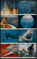 """Movie Posters:Documentary, Blue Water, White Death (National General, 1971). Mini Lobby Card Set of 8 (8"""" X 10""""). Documentary.... (Total: 8 Items)"""