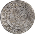 Colonials, 1776 $1 Continental Dollar, CURRENCY, Pewter, EG FECIT AU53 NGC....