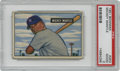 Baseball Cards:Singles (1950-1959), 1951 Bowman Mickey Mantle #253 PSA Good 2. As iconic as examplesfrom the 1950s get, this 1951 Bowman Mickey Mantle rookie ...