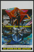 "Movie Posters:James Bond, The Spy Who Loved Me (United Artists, 1977). Belgian (14"" X 21"").James Bond...."