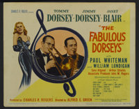 "The Fabulous Dorseys (United Artists, 1947). Title Lobby Card (11"" X 14""). Musical"
