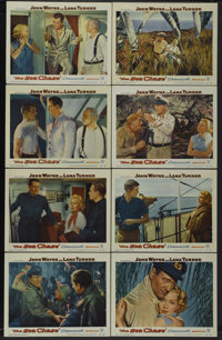 "The Sea Chase (Warner Brothers, 1955). Lobby Card Set of 8 (11"" X 14""). War.... (Total: 8 Items)"
