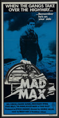"Movie Posters:Science Fiction, Mad Max (American International, 1980). Australian Daybill (13"" X 26.5""). Science Fiction...."
