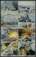 "Movie Posters:War, Tora! Tora! Tora! (20th Century Fox, 1970). Mini Lobby Card Set of8 (8"" X 10""). War.... (Total: 8 Items)"