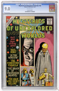Silver Age (1956-1969):Mystery, Mysteries of Unexplored Worlds #18 (Charlton, 1960) CGC VF/NM 9.0Off-white pages....