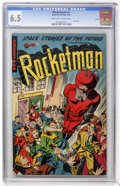 Golden Age (1938-1955):Science Fiction, Rocketman #1 Aurora pedigree (Farrell, 1952) CGC FN+ 6.5 Off-white to white pages....