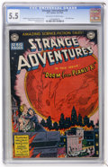 Golden Age (1938-1955):Science Fiction, Strange Adventures #2 (DC, 1950) CGC FN- 5.5 Off-white to whitepages....
