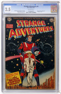 Golden Age (1938-1955):Science Fiction, Strange Adventures #9 (DC, 1951) CGC GD+ 2.5 Off-white pages....