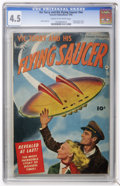 Golden Age (1938-1955):Science Fiction, Vic Torry & His Flying Saucer #nn (Fawcett, 1950) CGC VG+ 4.5Cream to off-white pages....