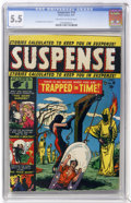 Golden Age (1938-1955):Horror, Suspense #10 (Atlas, 1951) CGC FN- 5.5 Off-white to white pages....