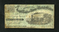 Obsoletes By State:Iowa, Davenport, IA- J.C. Washburn 50¢ Nov. 1, 1862. This is the first time that we have had this denomination on this scarce hard...
