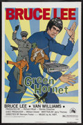 "Movie Posters:Action, The Green Hornet (20th Century Fox, 1974). One Sheet (27"" X 41"").Action. Starring Bruce Lee, Van Williams, Charles Bateman,..."