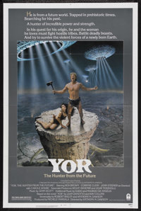 """Yor, the Hunter from the Future (Columbia, 1983). One Sheet (27"""" X 41""""). Science Fiction. Starring Reb Brown..."""