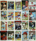 Autographs:Sports Cards, Pete Rose Single Signed Baseball Cards Lot of 20. One of the mostbeloved and controversial personalities in the game, Pete...