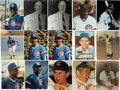 "Autographs:Photos, Chicago Cubs Signed Photographs Lot of 47. A group of single signed8x10"" photographs of Chicago Cubs player. Each photo ha..."