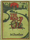 Books:Children's Books, L. Frank Baum. The Road to Oz. Illustrated by John R. Neill.Chicago: The Reilly & Britton Co. Publishers, [1909...
