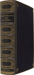 Books:First Editions, Horace Walpole. Horace Walpole and His World. SelectPassages from His Letters. Edited by L. B. Seeley. With Eig...