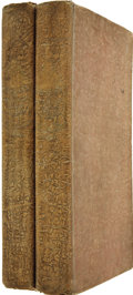 """Books:First Editions, [Charles Dickens]. Memoirs of Joseph Grimaldi. Edited by""""Boz."""" With Illustrations by George Cruikshank. In Two ..."""