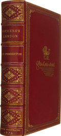 Books:First Editions, [Charles Dickens]. T. Edgar Pemberton. Dickens's London; or, London in the Works of Charles Dickens. [London]: S...