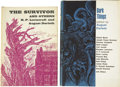 Books:Fiction, Two Arkham House First Editions, including:... (Total: 2 Items)