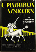 Books:First Editions, Theodore Sturgeon. E Pluribus Unicorn....
