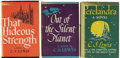 Books:First Editions, C. S. Lewis. Ransom Trilogy, including:... (Total: 3 Items)