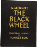 Books:First Editions, A. Merritt. The Black Wheel. Completed and Illustrated byHannes Bok. New York: New Collectors' Grou...