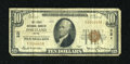 National Bank Notes:Maine, Portland, ME - $10 1929 Ty. 1 The First NB Ch. # 221. ...
