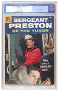 Silver Age (1956-1969):Adventure, Sergeant Preston of the Yukon #26 (Dell, 1958) CGC NM 9.4 Cream to off-white pages....