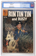 Silver Age (1956-1969):Adventure, Rin Tin Tin #36 (Dell, 1960) CGC NM 9.4 Cream to off-white pages....