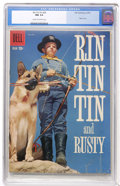 Silver Age (1956-1969):Adventure, Rin Tin Tin #29 (Dell, 1959) CGC NM 9.4 Cream to off-white pages....