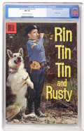 Silver Age (1956-1969):Adventure, Rin Tin Tin #18 (Dell, 1957) CGC NM 9.4 Cream to off-white pages....