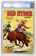 Golden Age (1938-1955):Western, Red Ryder Comics #108 (Dell, 1952) CGC NM 9.4 Cream to off-white pages....