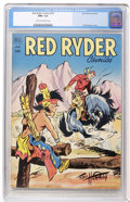 Golden Age (1938-1955):Western, Red Ryder Comics #107 (Dell, 1952) CGC NM+ 9.6 Cream to off-white pages....