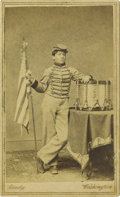 "Photography:CDVs, Brady Carte de Visite of ""Drummer Boy of the Rappahannock"" Robert Hendershot. ..."