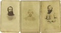 Photography:CDVs, Lot of Three CDVs of Confederate Generals,... (Total: 3 Items)