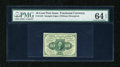 Fractional Currency:First Issue, Fr. 1243 10c First Issue PMG Choice Uncirculated 64 EPQ....
