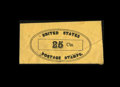 Fractional Currency:First Issue, Postage Envelope - 25¢ United States Unknown Issuer ExtremelyFine.. ...