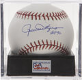 "Autographs:Baseballs, Rollie Fingers ""HOF 92"" Single Signed Baseball, PSA Mint+ 9.5. Thefamed reliever has signed here, making note of his Hall o..."