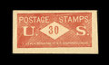 Fractional Currency:First Issue, Postage Envelope - 30¢ U.S. J. Leach Extremely Fine.. ...