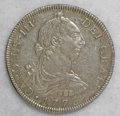 Mexico, Mexico: Pair of Carlos III Bust 8 Reales,... (Total: 2 coins)