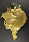 General Historic Events:Expos, 1901 Pan American Exposition Large Gilt Bronze Sculpture, Allegorical Musical Figures,...