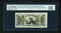 Fractional Currency:Third Issue, Fr. 1355SP 50c Third Issue Justice Wide Margin Face PMG About Uncirculated 55....